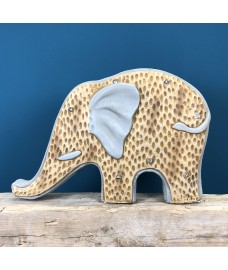 Elephant Solar Light Ornament