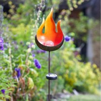 Flame Border Stake Light (Solar) by Smart Solar