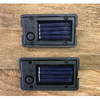 Set of 2 Replacement Garden Solar LED Light Boxes