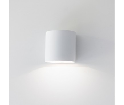 Troika Wall Light In Plaster by Garden Trading