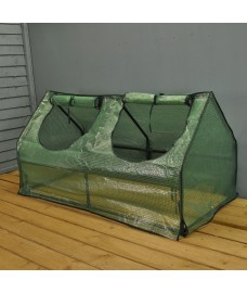 Multi Cloche Garden Growhouse with Reinforced Cover by Gardman