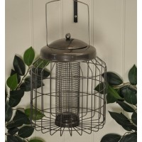 Heavy Duty Hanging Squirrel Proof Peanut Bird Feeder by Gardman