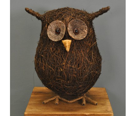 Ozzie Large Decorative Owl from Smart Garden