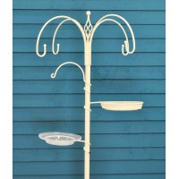 Cream Decorative Bird Feeding Station by Gardman
