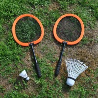 Childrens Badminton Garden Game Set by Kingfisher