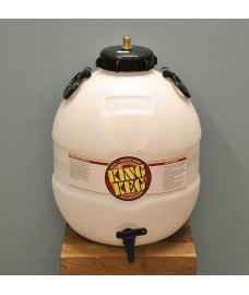 Beer Barrel with Bottom Tap by King Keg