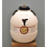 Beer Barrel with Top Tap by King Keg