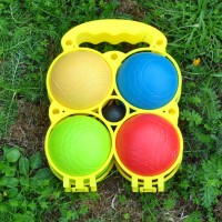 Plastic French Boules Garden Game by Premier