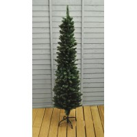5.5ft (170cm) Green Pencil Pine Artificial Christmas Tree by Premier