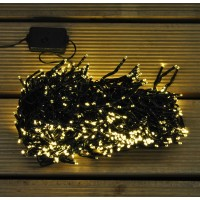 720 LED Warm White Cluster Supabright String Lights (Mains) by Premier