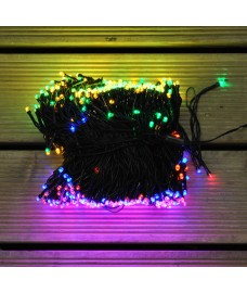 720 LED Multi Colour Supabright Christmas String Lights (Mains)