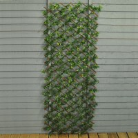 Green Japanese Maple Artificial Garden Leaf Trellis (1.8m x 0.6m)
