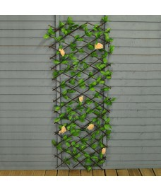 Selections Champagne Rose Artificial Garden Trellis (1.8m X 0.6m)
