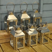 Milan Tealight Candle Lanterns (Set of 6)