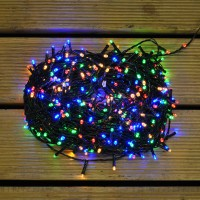 480 LED Multi-Coloured String Lights (Mains)
