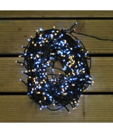 480 LED White & Warm White String Lights (Mains) by Premier