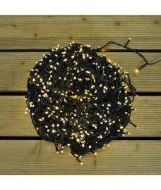 960 LED Warm White Supabright String Lights (Mains) by Premier