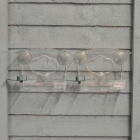 Selections Set of 2 x Complete Window Bird Feeder with Fatball Feeder and Water Dish
