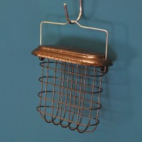 Hanging Suet Cake Bird Feeder For Selections Metal Bird Feeding Stations