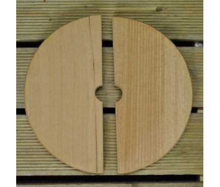 Wooden Press Plates for Traditional Fruit and Apple Press (18 Litre)