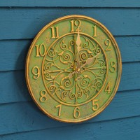 Verdant Wall Clock by Smart Garden