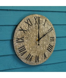 Rock Wall Clock by Smart Garden