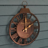 Vintage Wall Clock by Smart Garden