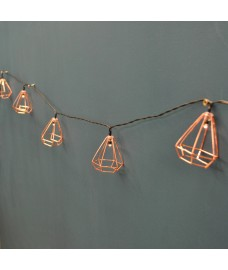 10 Gold Diamond String Lights by Smart Garden