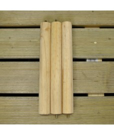 Wooden Bird Table Poles with for Squirrel Proof Bird Tables