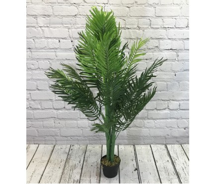 Artificial Topiary Palm Tree (125cm)