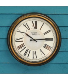Bank Station LED Glow Wall Clock (36cm) by Gardman