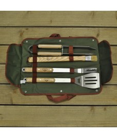 Deluxe 4 Piece Barbecue Tool Set