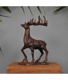 Large Cast Iron Stag Ornament by Fallen Fruits