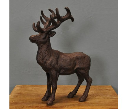 Cast Iron Stag Ornament by Fallen Fruits