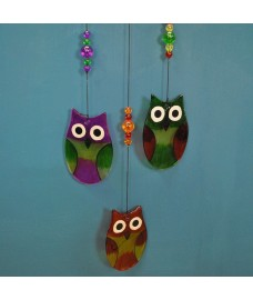 Owl Wind Chime Hanging Ornament
