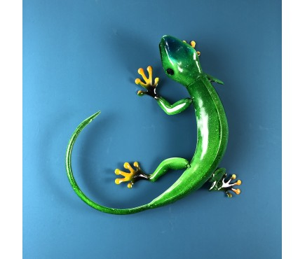 Emerald Green Gecko Ornament