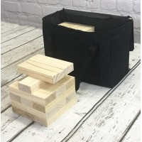 Jumbo Garden Wooden Tumbling Tower