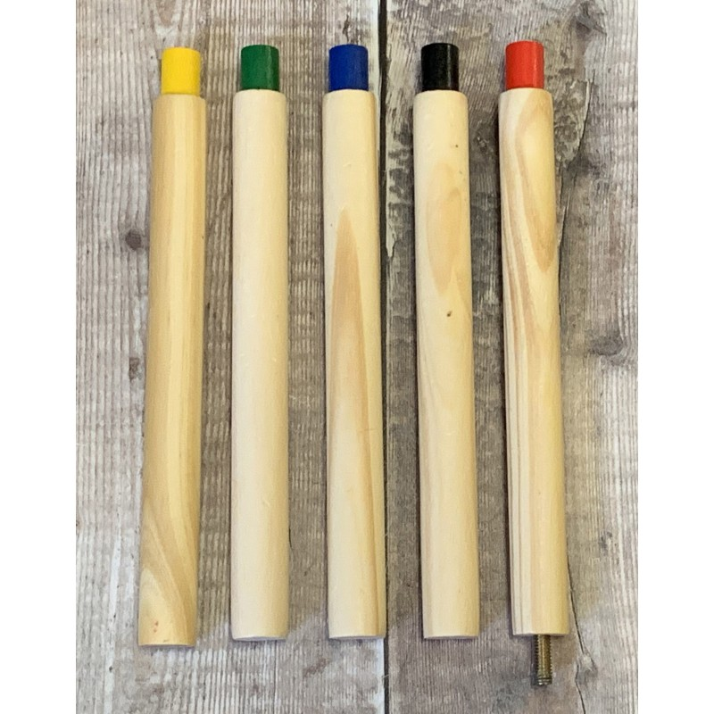 Set of Poles for Garden Quoits Game