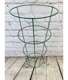 Single Conical Garden Plant Support Ring (75cm)