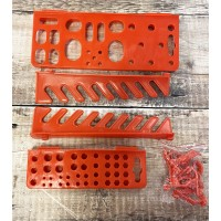 Replacement Hooks & Fixings for GFH767 & GFH768 Tool Storage Racks