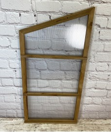 Left Hand Side Panel for Wooden Mini Growhouse (Wooden Frame and Polycarbonate)