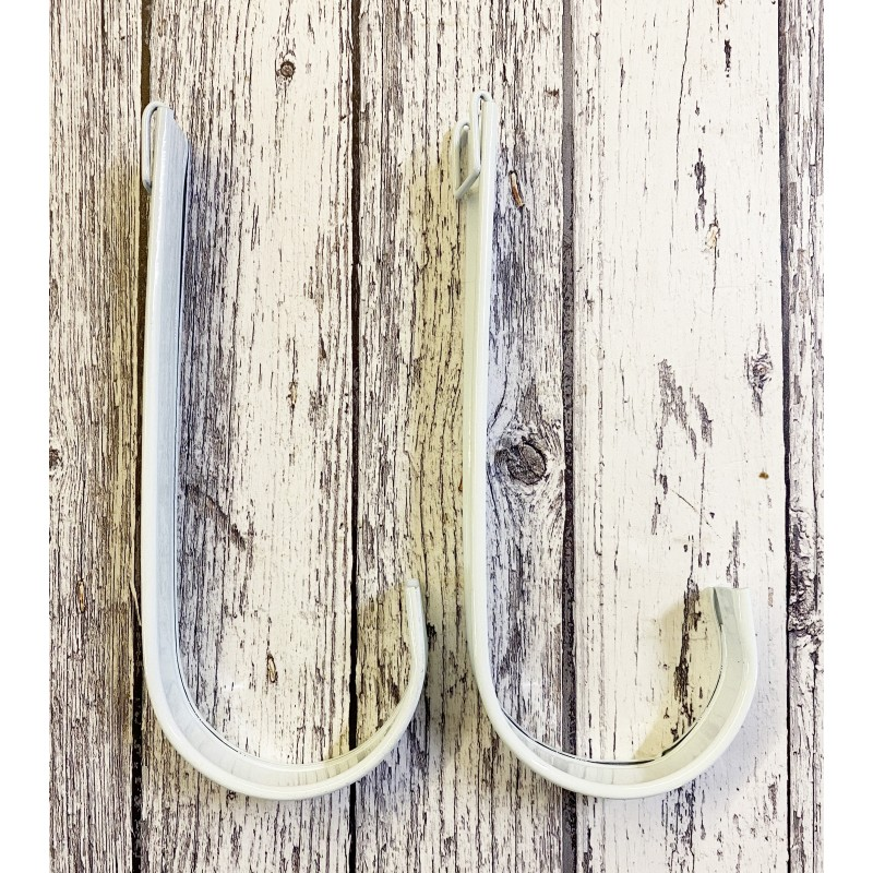 Replacement Hangers for Ivory White Balcony Hanging Planter GFK446