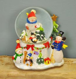 Christmas Scene Ornaments