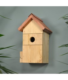 Wooden Multi Bird Nest Box (with 2 changeable entrance Holes) by Gardman