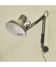 Clerkenwell Wall Light in Charcoal by Garden Trading