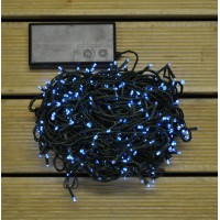 600 LED White Timer Function String Lights (Battery) by Premier