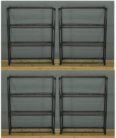 Greenhouse Staging Shelving Racking 4 Tier (Pack of 4)