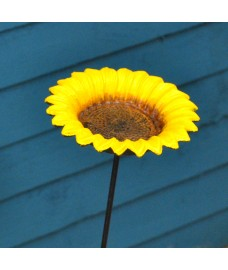 Cast Iron Sunflower Dish Design Wild Bird Feeder by Gardman