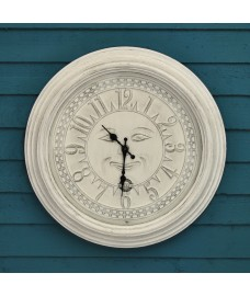 Woodstock Wall Clock (50cm) by Smart Solar
