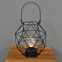 Bilbao Battery Operated Candle Lantern By Smart Solar